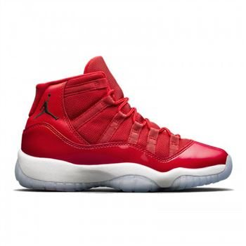 Women's Air Jordan 11 Gym Red (Win Like'96) Gym Red/White-Black 378037-623