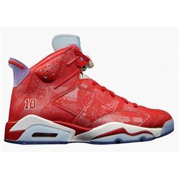 best sneakers e2722 596e0 Authentic 717302-600 Air Jordan 6 Retro Varsity Red Varsity Red-White  Women s