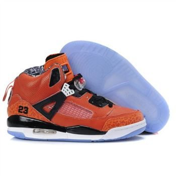 Air Jordan Spizike Orange Women Basketball Shoes A24038