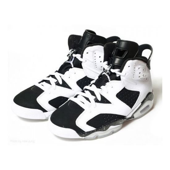 huge selection of 97197 5801a 384664-101 Air Jordan 6 (VI) Retro Oreo White Black A06010 ...