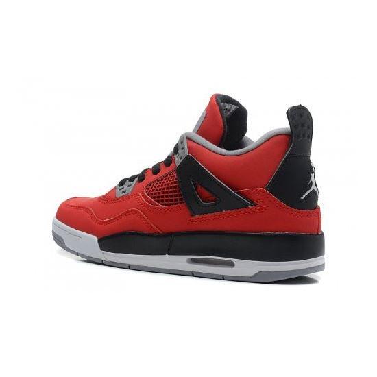 the best attitude bd953 a0fc4 408452-603 Air Jordan 4 Retro Fire Red White-Black-Cement Grey Women